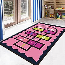 JIFAN Teppich, Kind Puzzle Digitale Teppich Kind