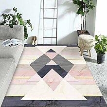 JIFAN Teppich, Mädchen Zimmer Weichfaser Teppich
