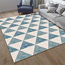 JIFAN Teppich, Nordic Modern Geometrisch Weicher,