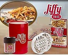 Jiffy Fries Kartoffelschneidemaschine Pommes