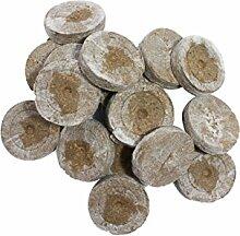 Jiffy Torfquelltöpfe 100 STK. Stecklinge Aufzucht