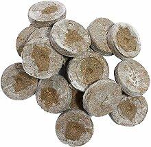 Jiffy Torfquelltöpfe 500 STK. Stecklinge Aufzucht