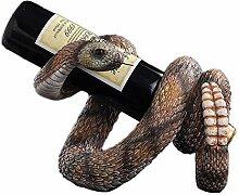 JIJOOJOOK Europäische Weinregale Klapperschlange