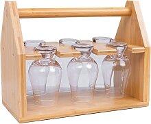 Jillmo Whiskey-Glasregal, Aufbewahrung und