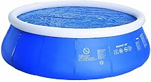 Jilong 17710Abdeckung Solar Dosierschwimmer autoportanti, blau, 360x 360x 0.12cm