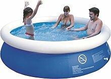 Jilong JL010201N -P21 Quick-up Pool, 240 x 63 cm, Marine blau