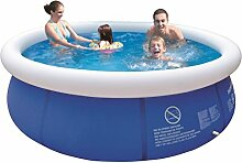 Jilong JL010202N -P21 Quick-up Pool, 300 x 76 cm, Marine blau