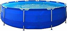 Jilong jl017236ng Pool rund mit Struktur, blau