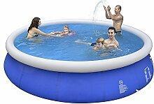 Jilong Marin Blue Swimming Pool Rundpool Set Ø