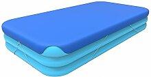 Jilong Pool-Abdeckung rechteckig Abdeckplane für Pool Gr. 360x188 bis 366x193 cm Familienpool Planschbecken Kinderpool Schwimmbecken Cover