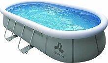 Jilong Pool selbsttragender Pool, Oval mit