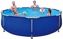 Jilong Sirocco Pool Set Ø450x122cm Stahlrahmen