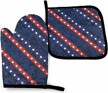 Jimbseo Vintage amerikanische Flagge U Vintage