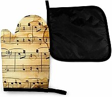 Jimbseo Vintage Musi Note Musiknote Morden Flying