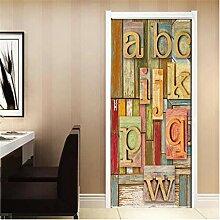 JIMI MAKER Ambiance Art Aufkleber 3D Tür