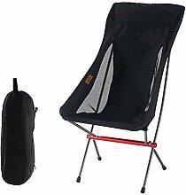 JIMITO Camping-Klappstuhl, leicht, mit