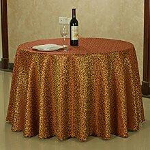 JIN Tablecloths QT Hotel Tischdecke,Continental Jacquard Tabelle Tuchgewebe,Hotel Wohnzimmer Couchtisch Quadratisch Tischdecke-F 140x180cm(55x71inch)