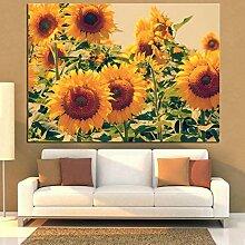 JinYiGlobal Sonnenblumenplakat Moderne