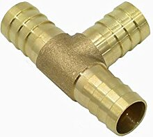 JINAN 8mm 10mm 14mm 16mm T Barb Stecker Messing T