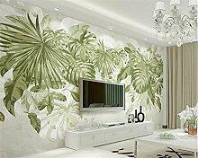 JING DIAN-Fototapete 3D Wallpaper Frische Grüne