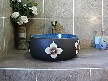Jingdezhen Art Keramik über Theke Becken Balkon