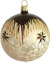 Jingle Bells Lauscha Christbaumkugel 10cm Romantik