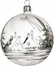 Jingle Bells Lauscha Christbaumkugel 10cm