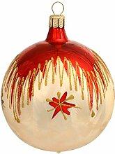 Jingle Bells Lauscha Christbaumkugel 6cm Tradition