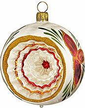 Jingle Bells Lauscha Christbaumkugel 8cm Reflex