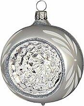 Jingle Bells Lauscha Christbaumkugel 8cm Reflex