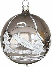 Jingle Bells Lauscha Christbaumkugel antik silber