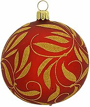 Jingle Bells Lauscha Christbaumkugel Barock