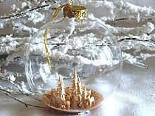 Jingle Bells Lauscha Christbaumkugel mit