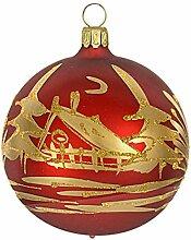 Jingle Bells Lauscha Christbaumschmuck Kugel