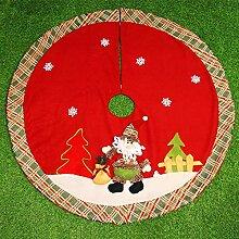 Jingle Star Weihnachtsbaum Decke Rock Rund
