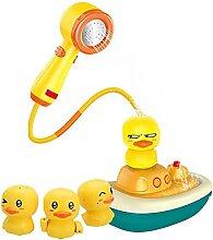 Jingshan Baby Badewanne Ente, Baby badespielzeug