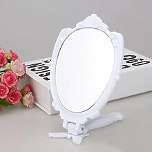 JINGZI Make-up-Spiegel ® Korean großen Griff