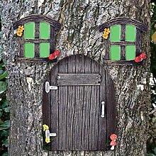 jinhuoba Baumtür und Fenster-Baumumarmung,