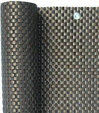 Jinju 0,9 x 4 Meter Polyrattan Sichtschutz,