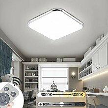 JINPIKER 36W Ultraslim Deckenleuchten Dimmbar LED