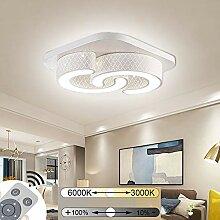 JINPIKER 64W Dimmbar LED Deckenleuchte C-Form led