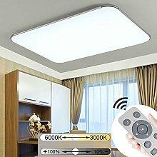JINPIKER 64W Dimmbare Ultradünn LED Deckenleuchte