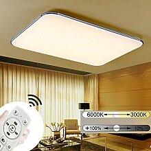 JINPIKER 72W Dimmbar Ultradünn LED Deckenleuchte