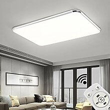 JINPIKER 72W Ultraslim Deckenlampe Dimmbar LED