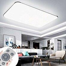 JINPIKER 90W Dimmbare Ultradünn LED Deckenleuchte