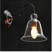 JINRONG-wall lamp Industrial Wind Crystal