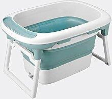 JINRONG_xzp Faltbare Babybadewanne-tragbare