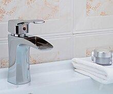 JinRou einzigartige Persönlichkeit Design Galvanik Giesserei Waschbecken Waschbecken Wasserhahn Wasserfall Wasserhahn