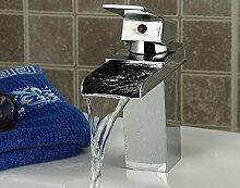JinRou einzigartige Persönlichkeit Design High-end Bad Armatur Waschbecken Wasserhahn Wasserfall Wasserhahn