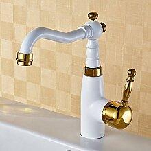 JinRou Fashion design Stil weiß Waschbecken Waschbecken Wasserhahn